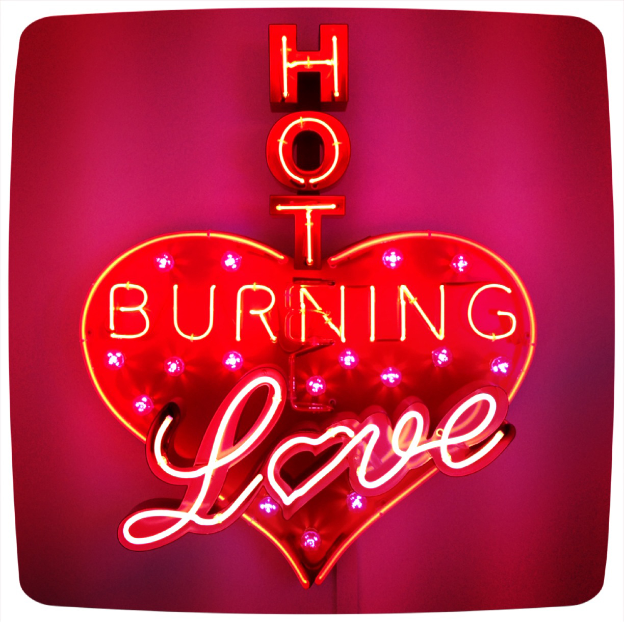 Hot Burning Love - Chris Bracey