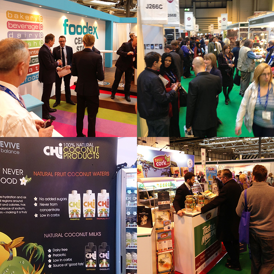 Food and Drink Expo 2014 NEC