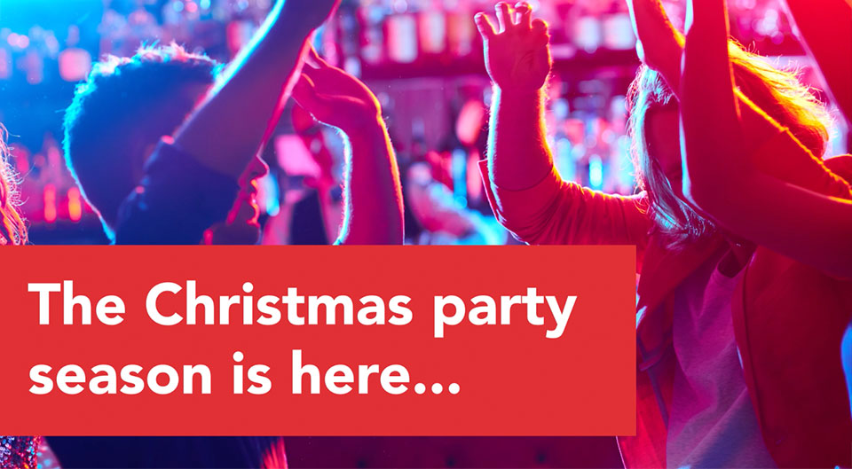 The Christmas party season is here - HIV and Hepatitis awareness