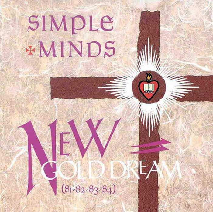 New Gold Dream - Simple Minds album cover