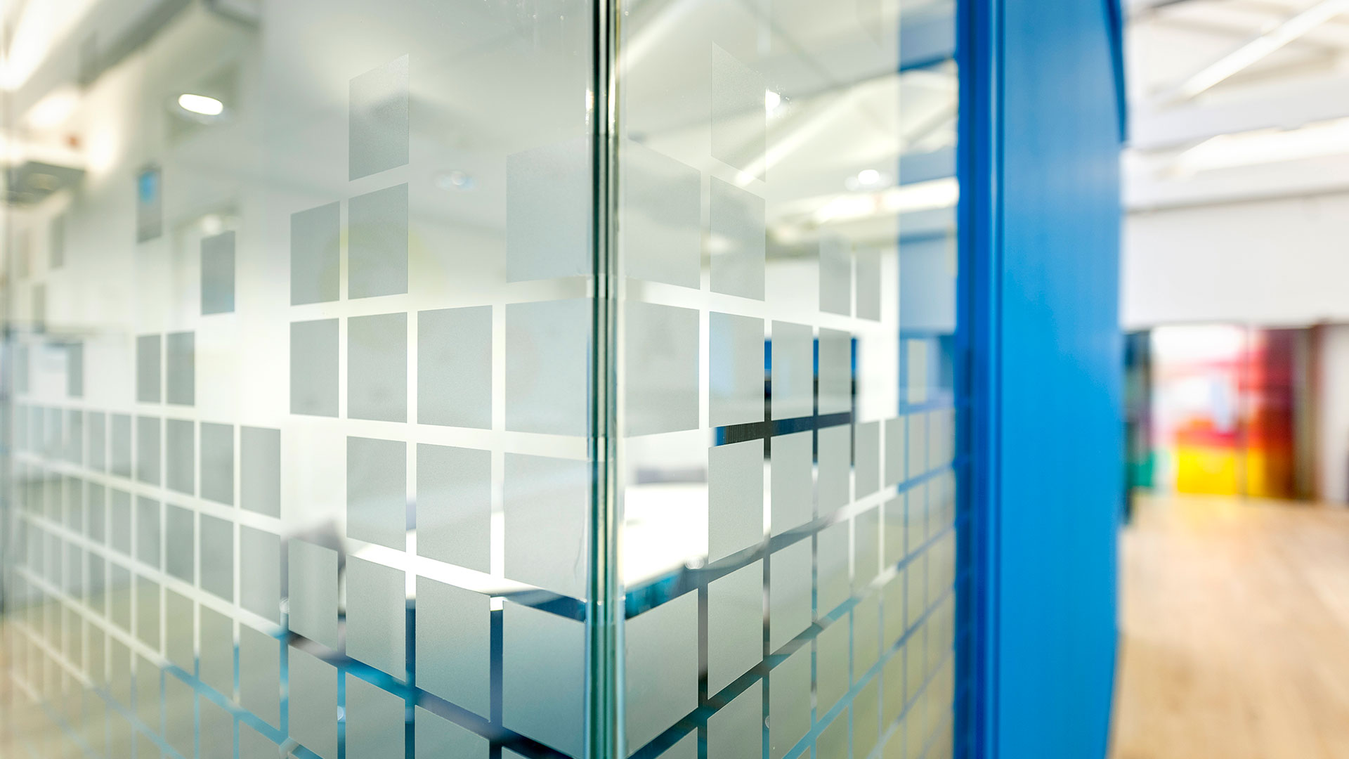 Brightsolid interior glass walls