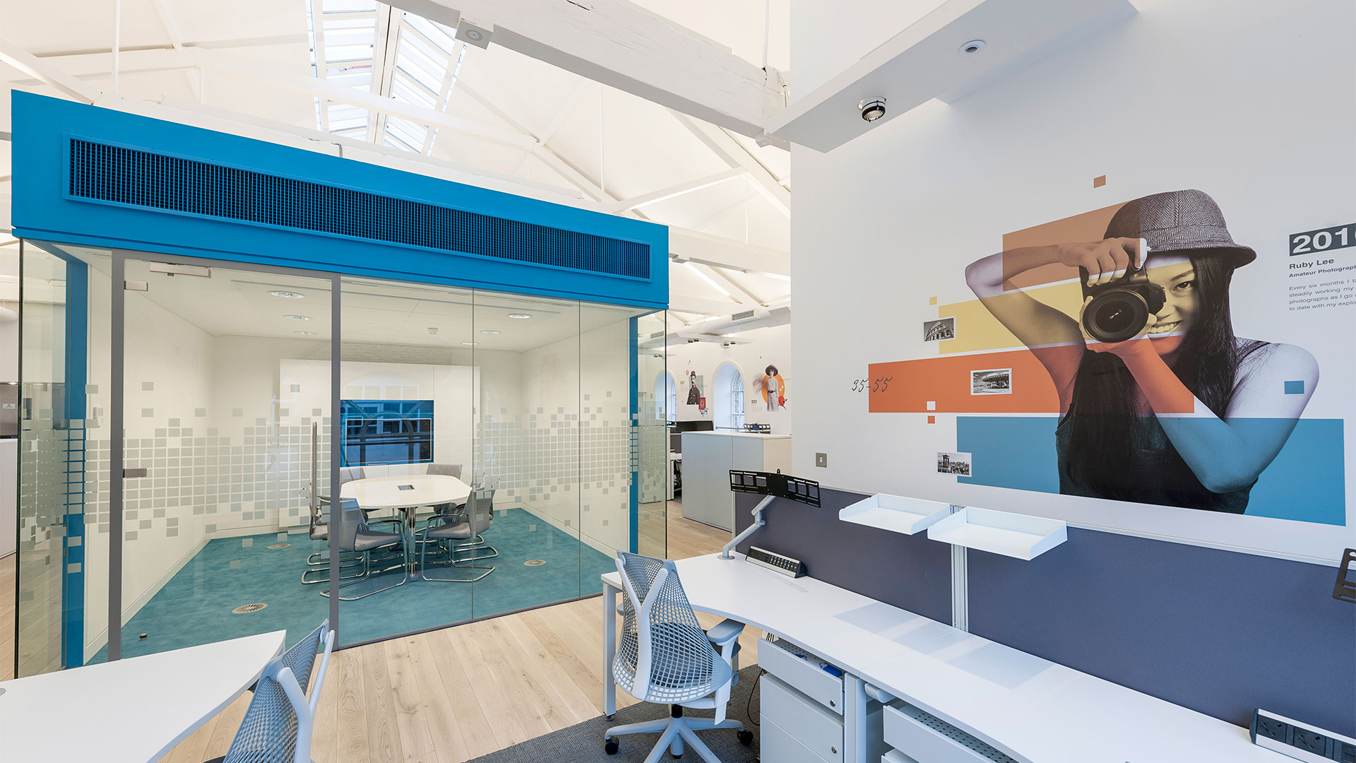Brightsolid interior - example of office space