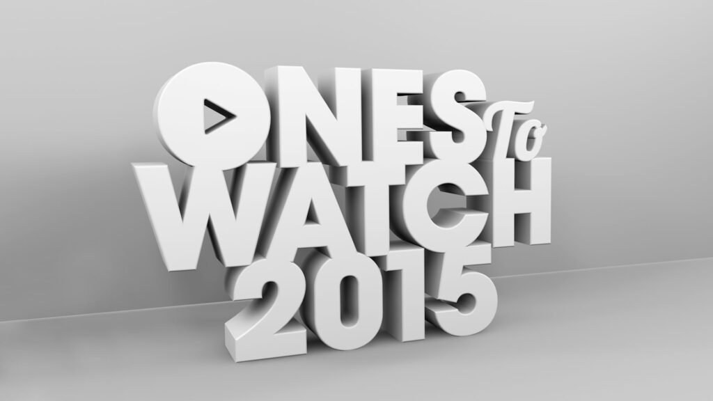 DJCAD Ones to watch 2015 logo