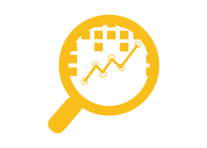 Analytics yellow icon