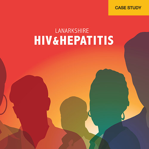 NHS Lanarkshire Case Study HIV and Hepatitis logo