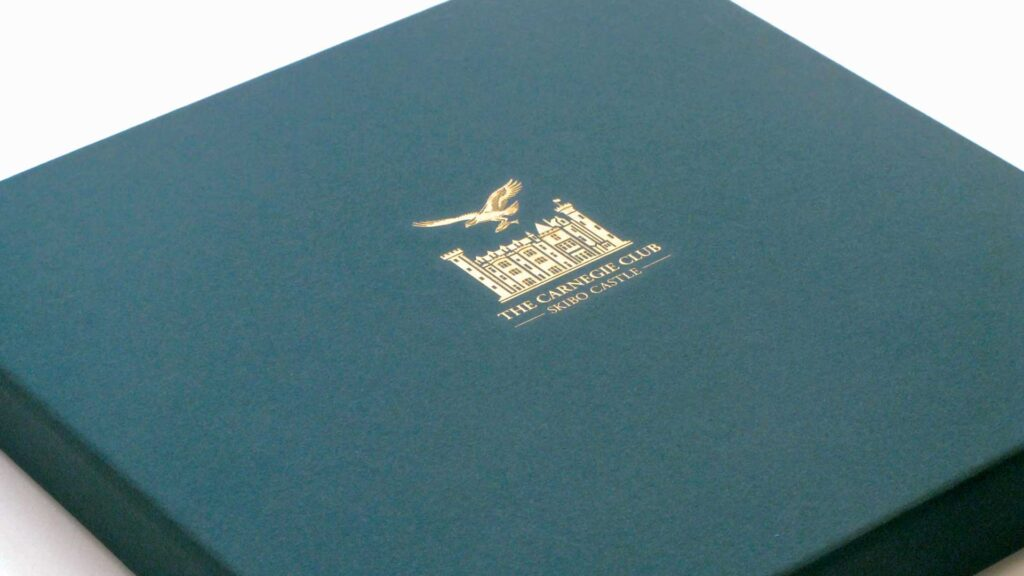 Carnegie Club printed collateral