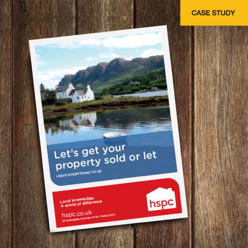 HSPC leaflet on table