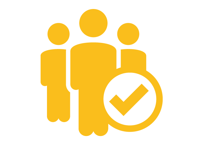 User Experience yellow icon