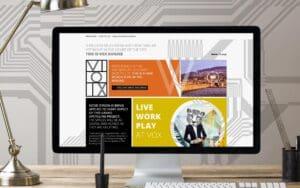 VOX website on computer screen