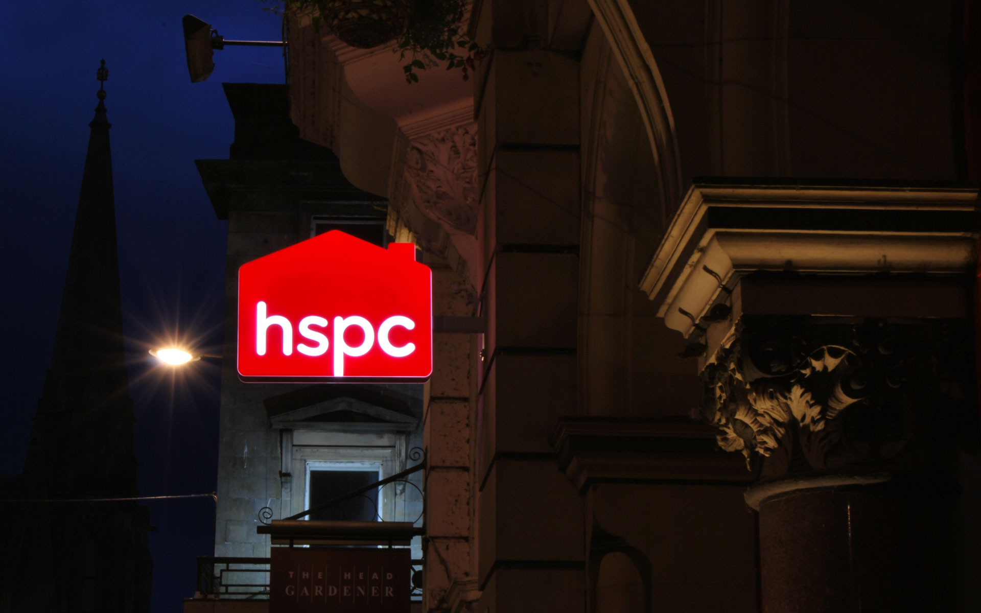 hspc sign lit up