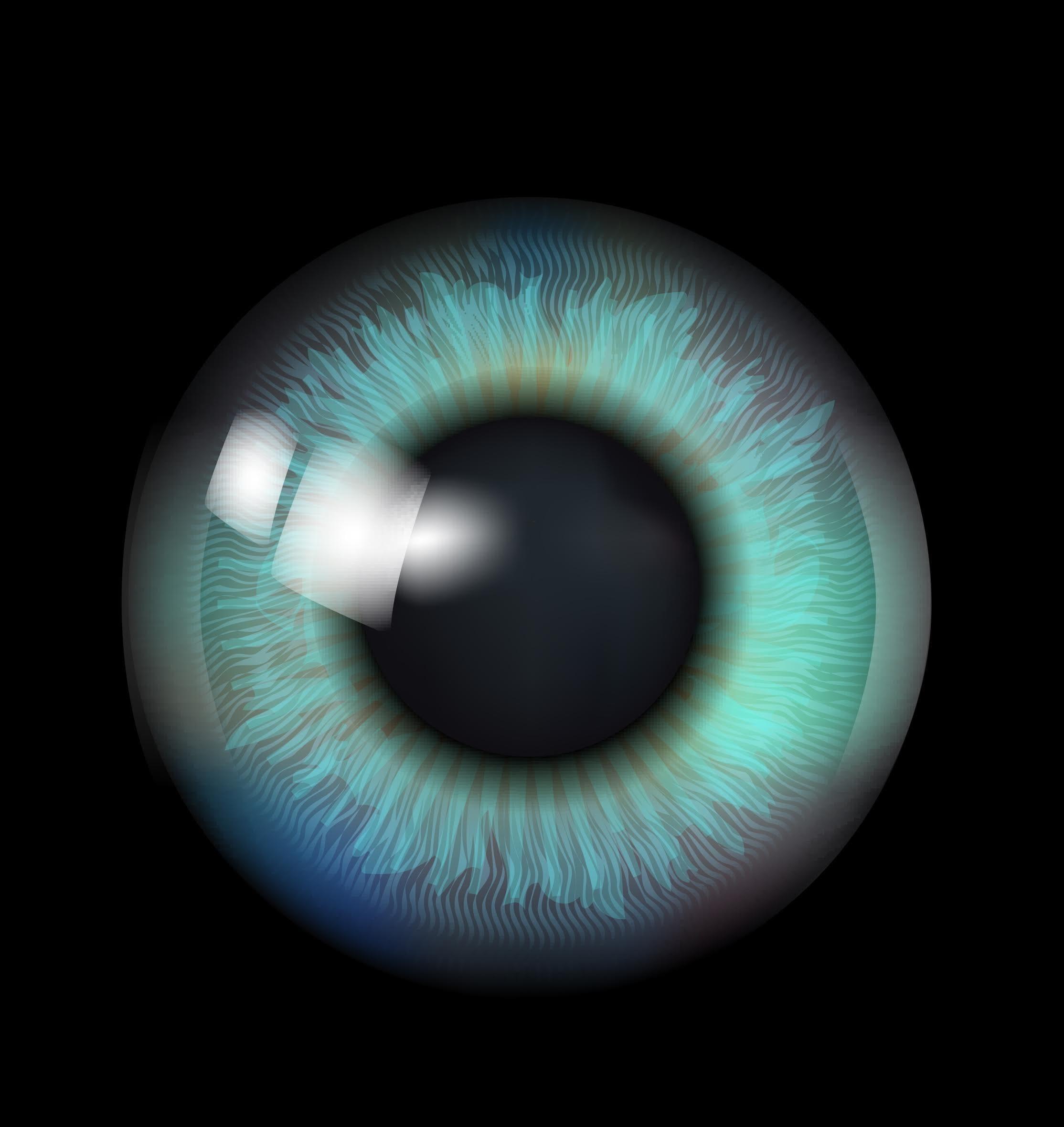 A large eye indicating digital intelligence