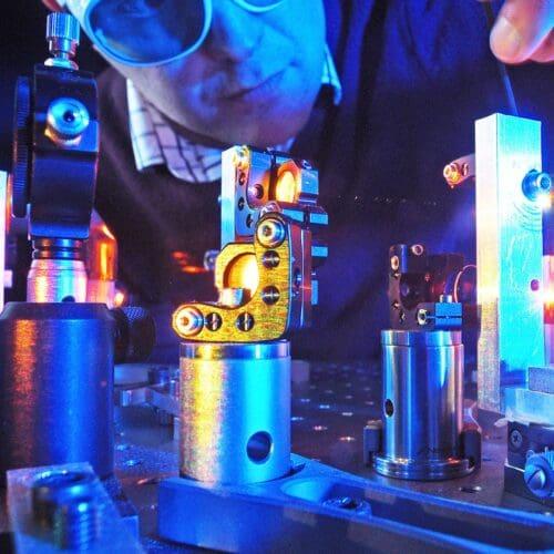 Close up image of Chromacity Lasers