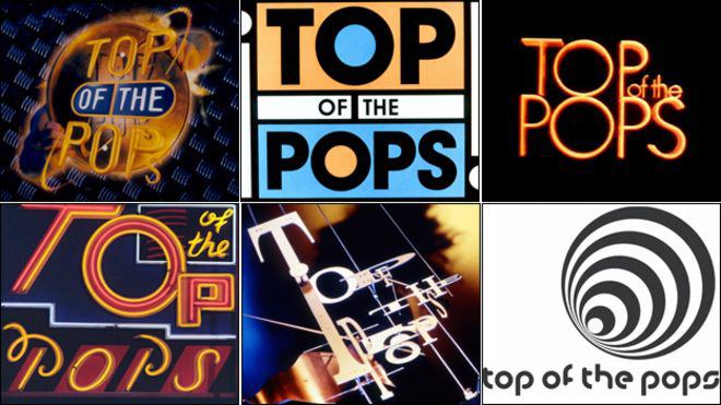 Top of the Pops Logos