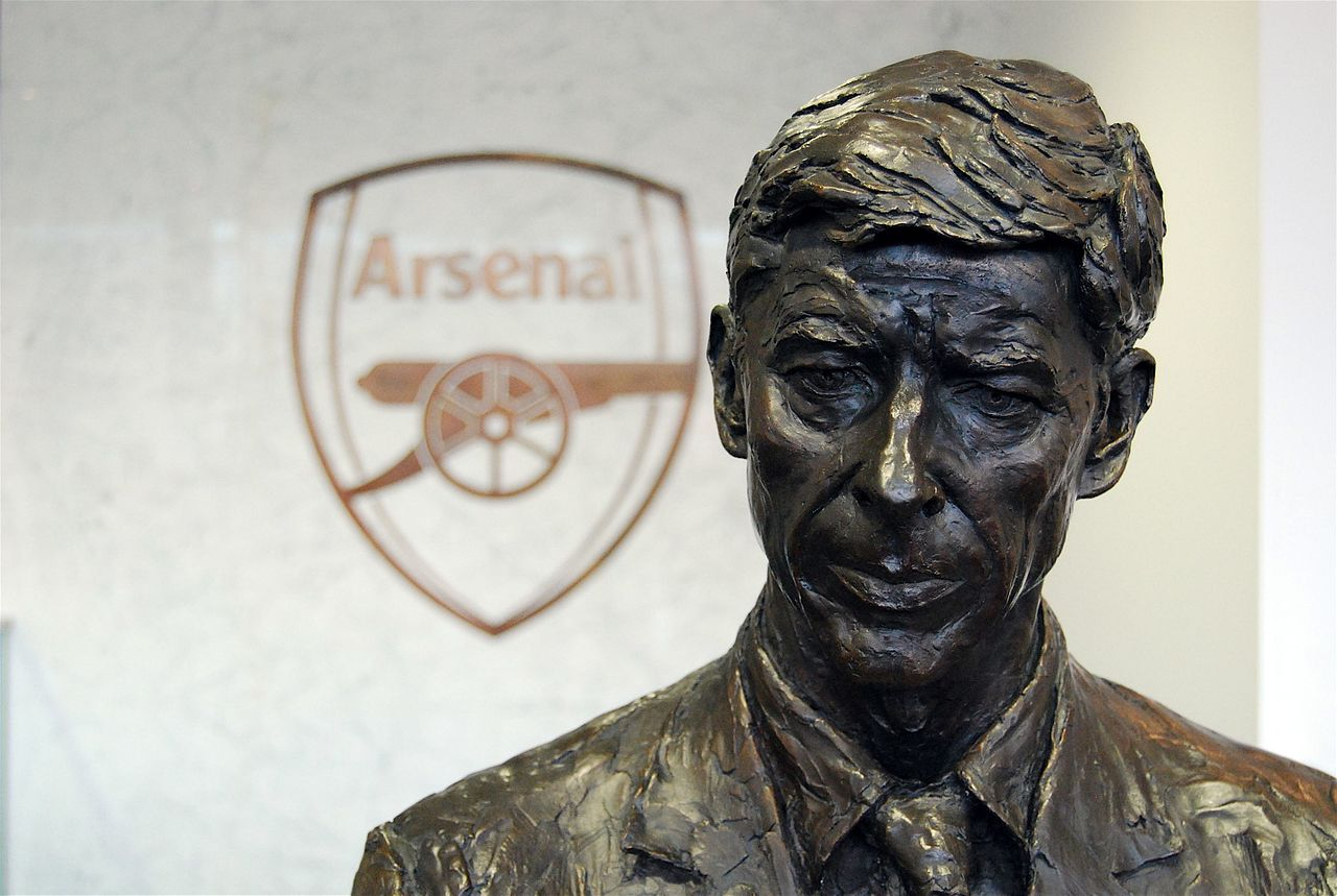 Bust of Arsene Wenger - Arsenal Brand