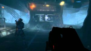 A screenshot of Aliens: Colonial Marines
