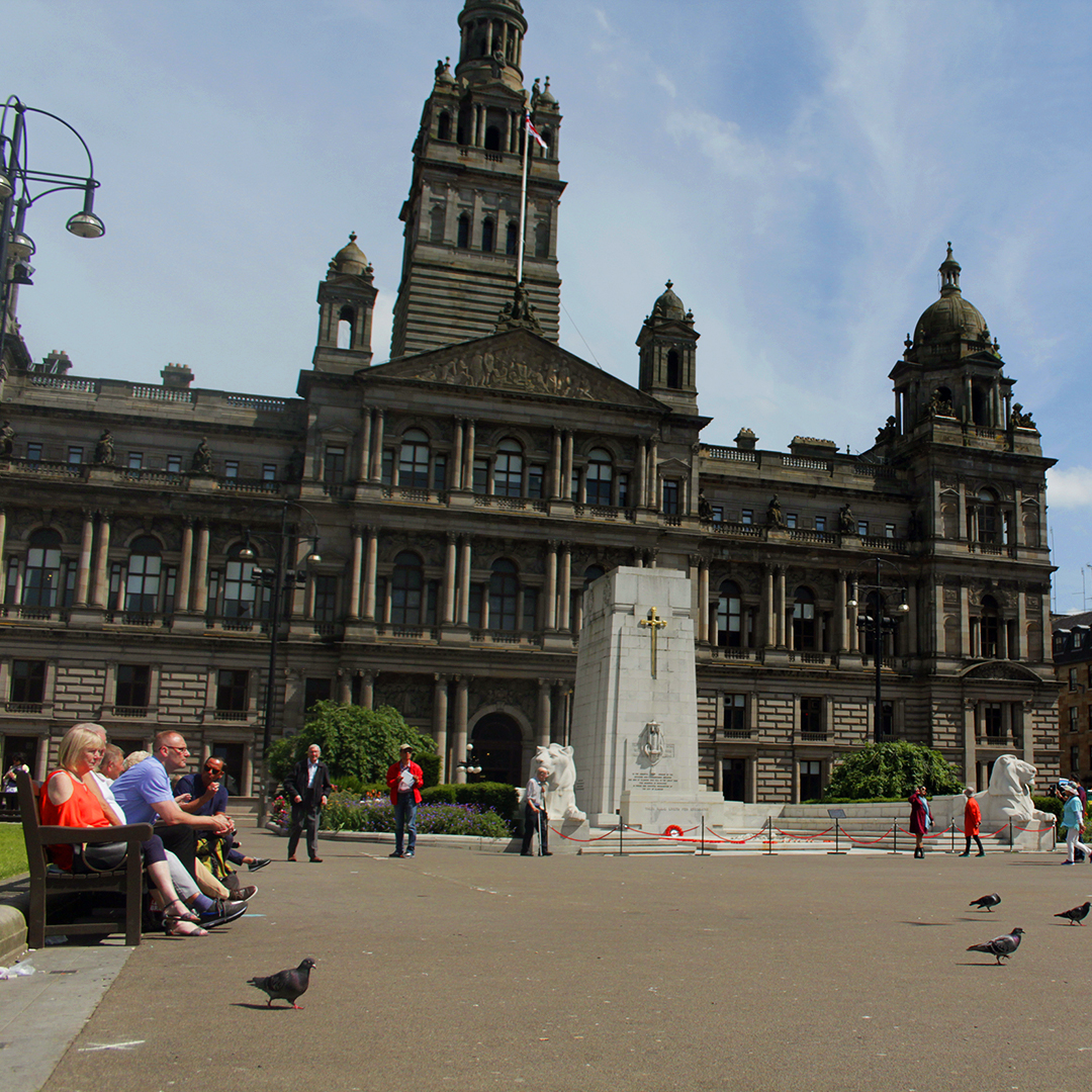 Glasgow's George Square