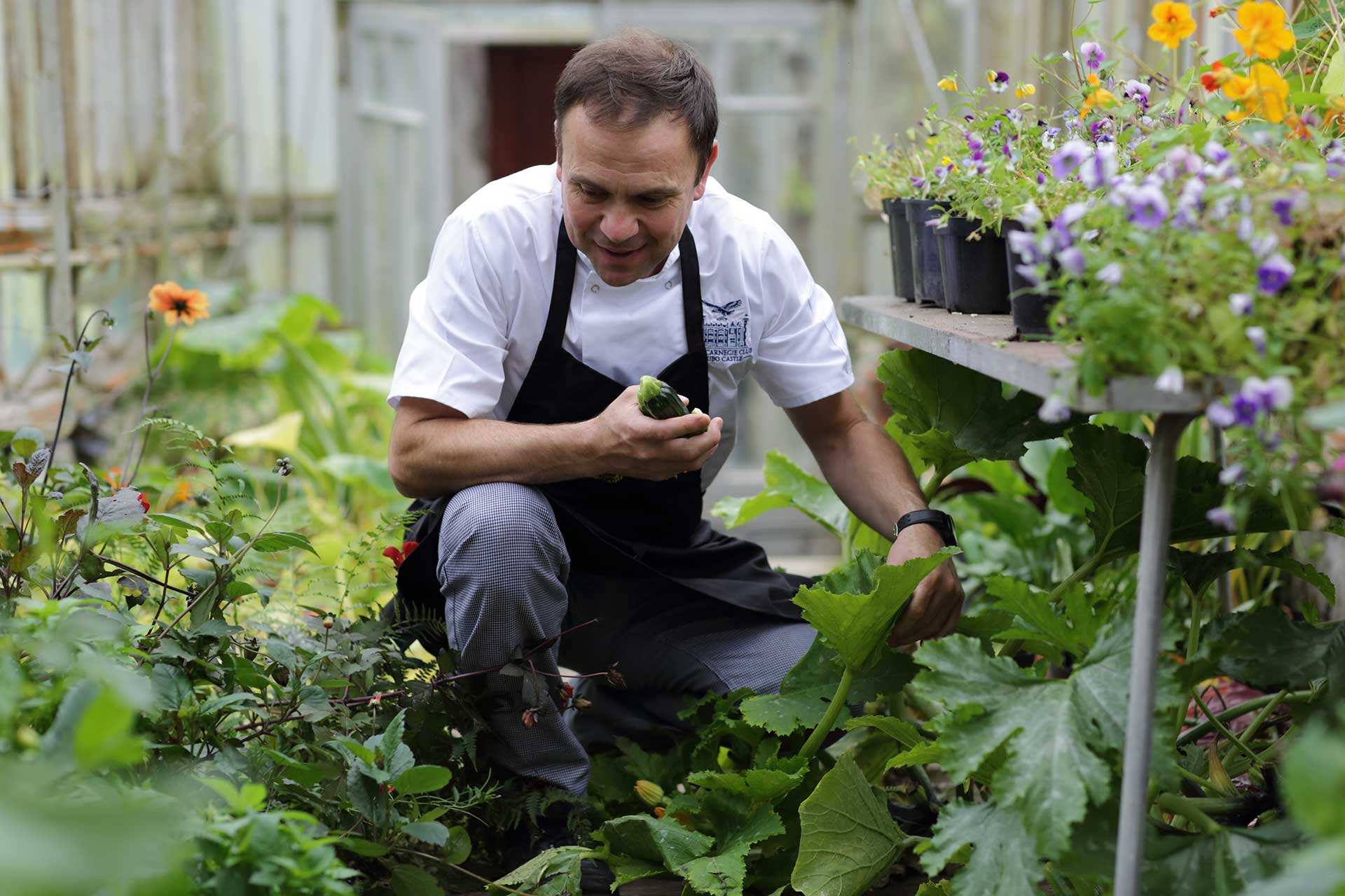 Kitchen Executive Chef - Craig Rowland in Old Glasshouse