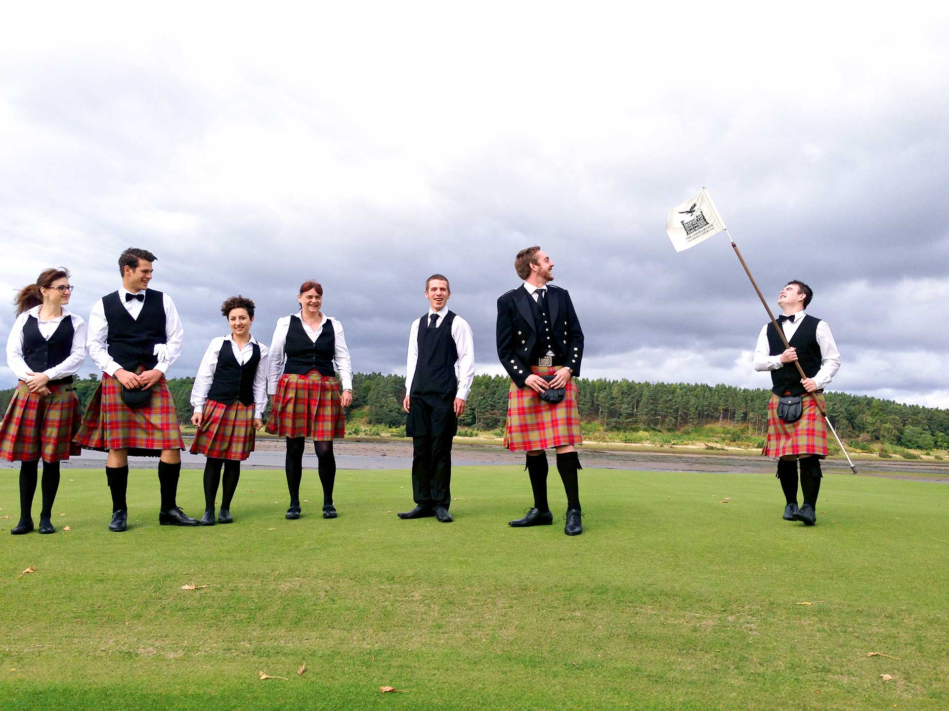 Butlers on the Golf Course