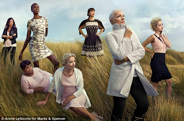 M&S leading ladies image