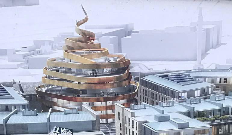 New St James Centre CGI