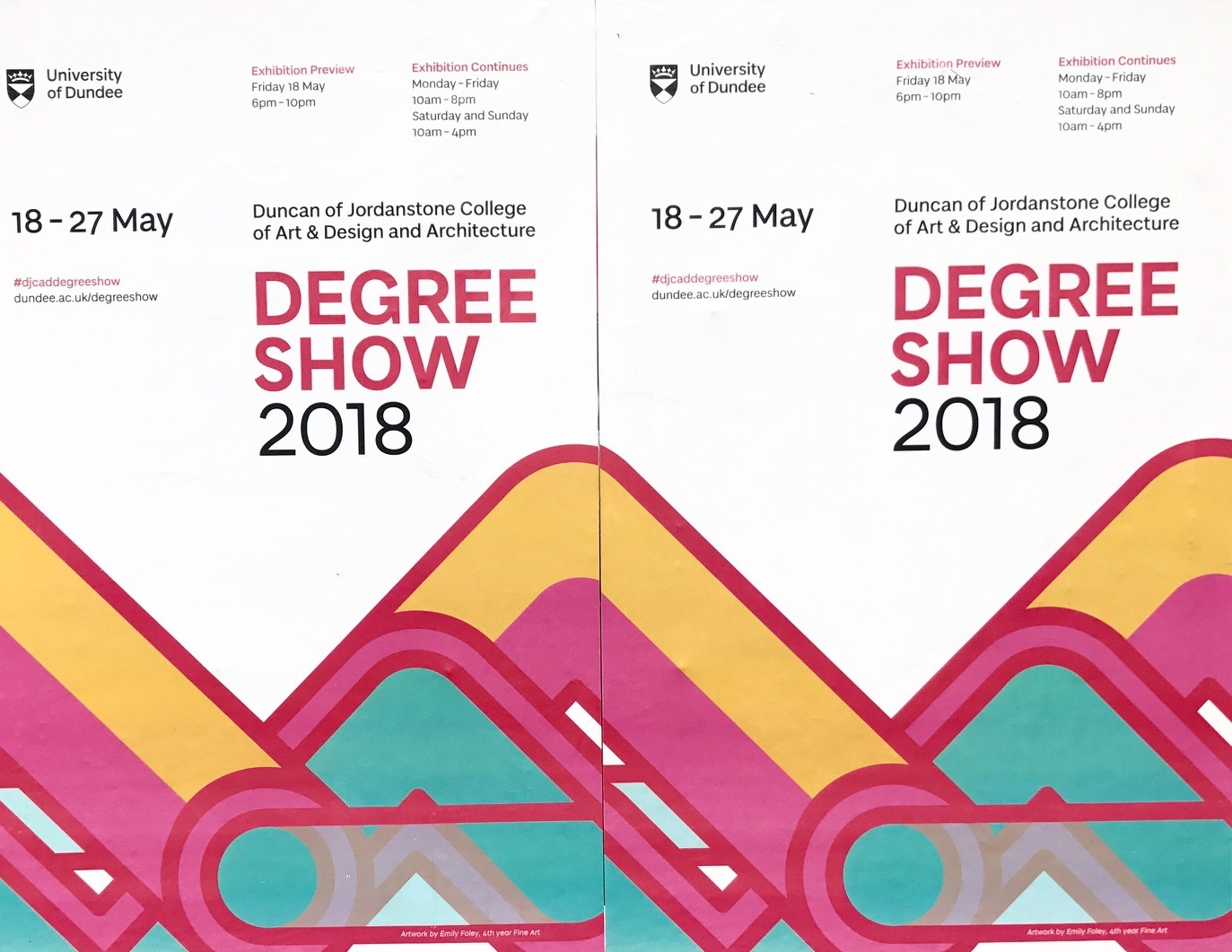 degree-show-leaflet