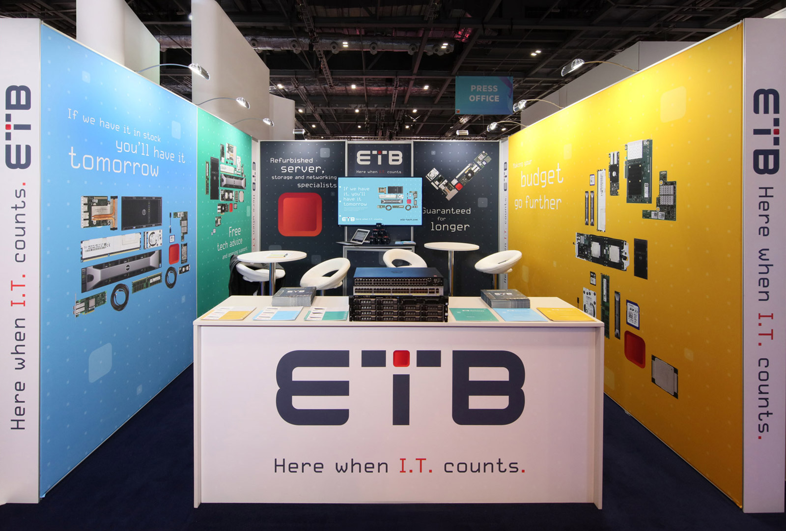 ETB event stand
