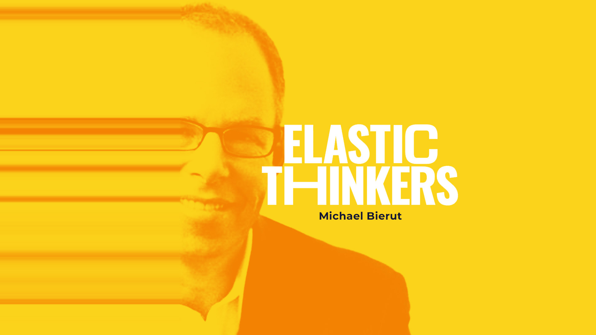 Image of the designer Michael Bierut